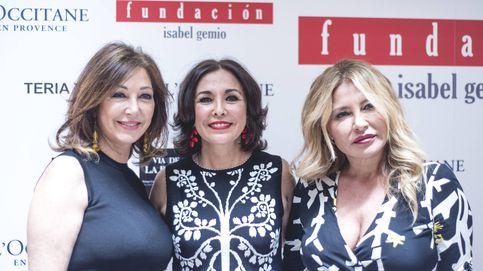 """Isabel Gemio """"vende"""" los vestidos de Ana Rosa, Anne Igartiburu y Campos"""