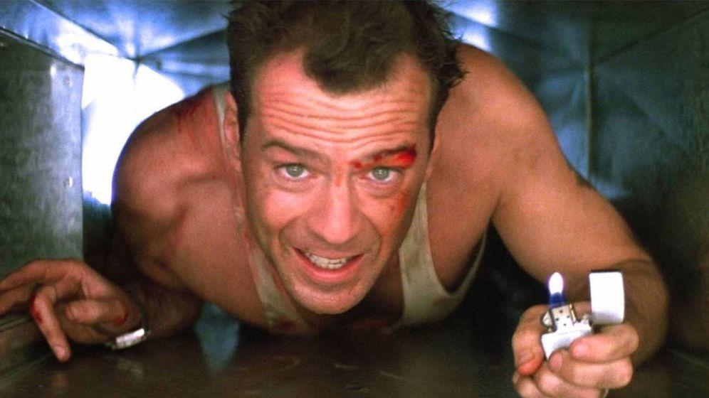 Foto: Bruce Willis en una de las escenas de 'Jungla de Cristal' (Fox)