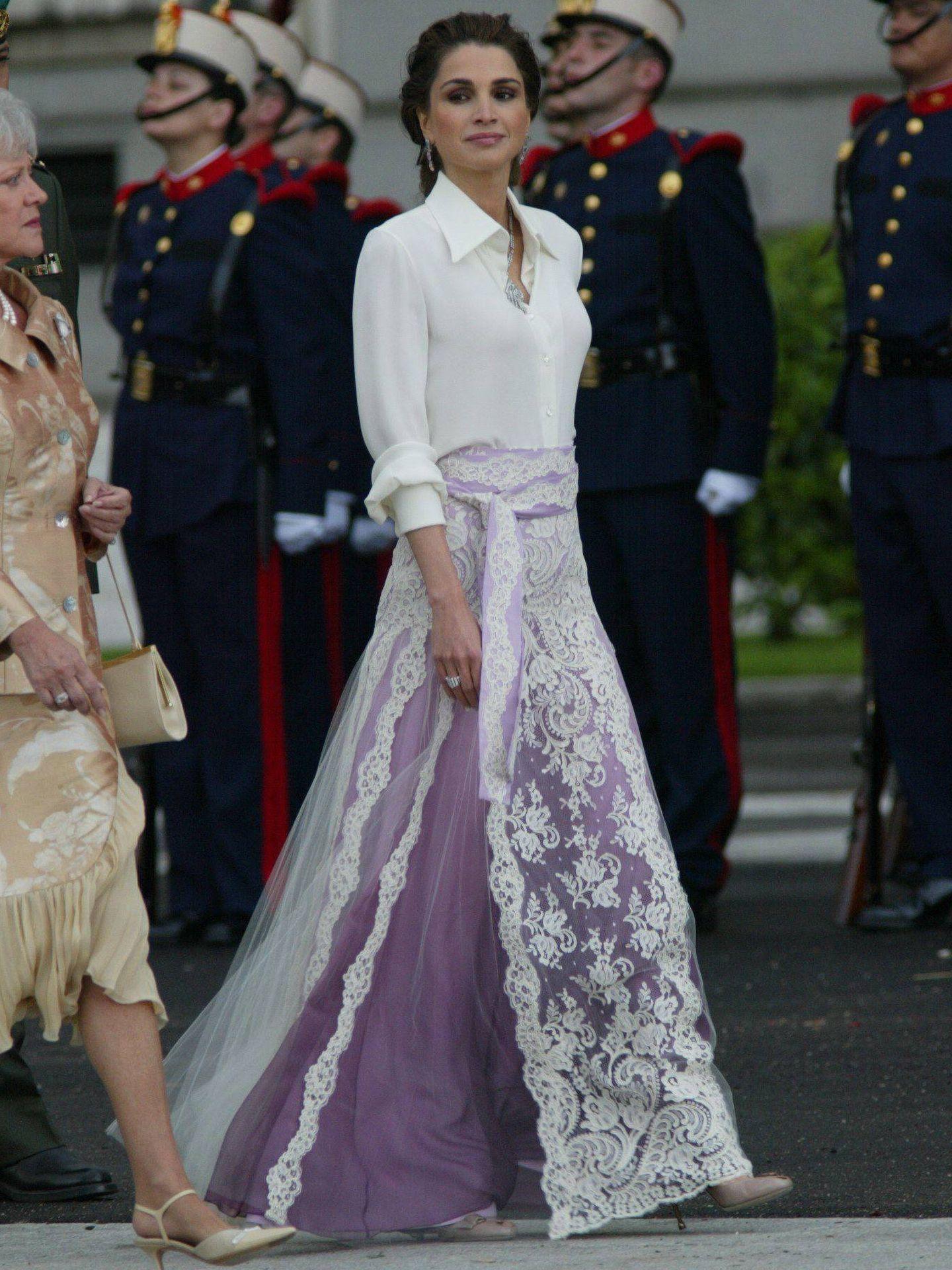 La reina Rania de Jordania. (Getty)