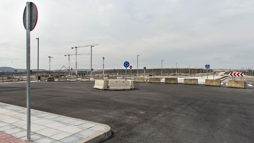 Queda inaugurada esta 'ciudad': la primera vecina del Cañaveral vive entre obras