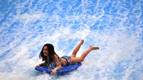 Piscina con olas, túnel de viento y otros planes divertidos con niños