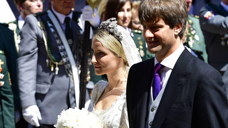Ernesto de Hannover Jr., el día de su boda con Ekaterina Malysheva. (Getty)