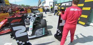 Post de El numerito de Vettel después de la polémica sanción que le birló la victoria