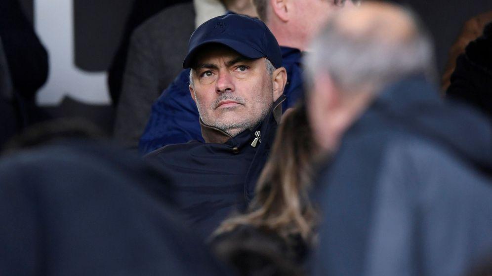 Foto: Jose Mourinho está sin equipo desde que fue despedido por el Manchester United. (Reuters)