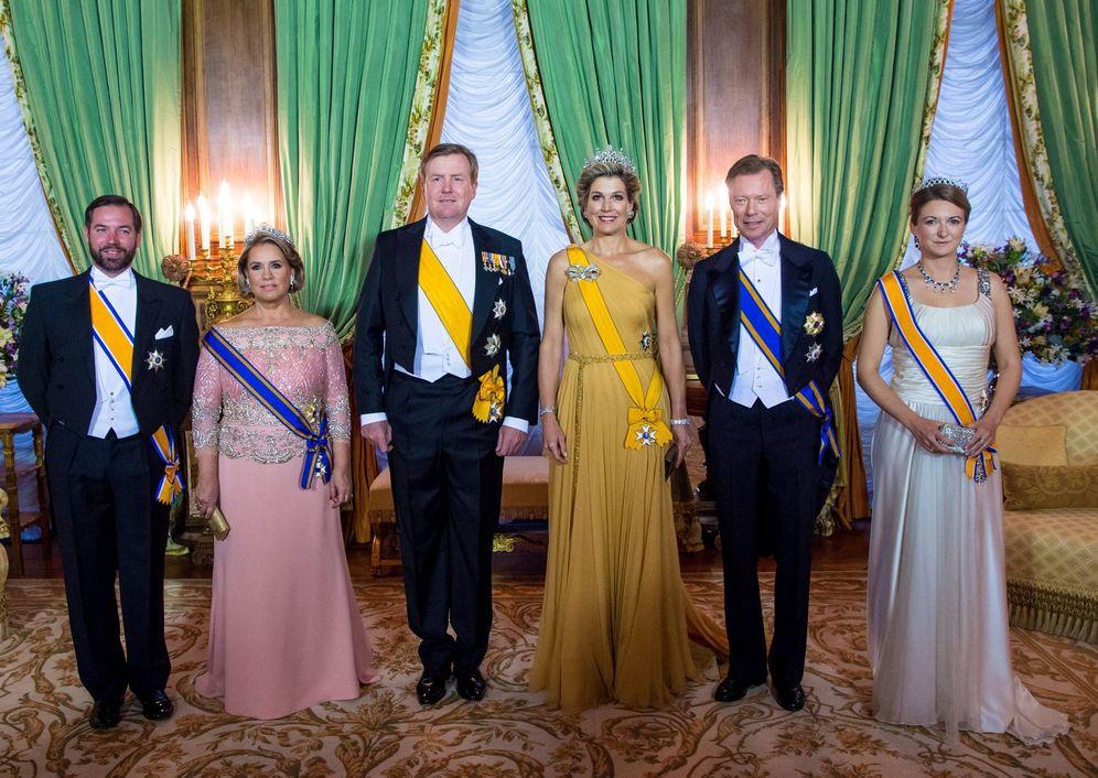 Foto: Cena de gala en honor a Máxima y Guillermo de Holanda