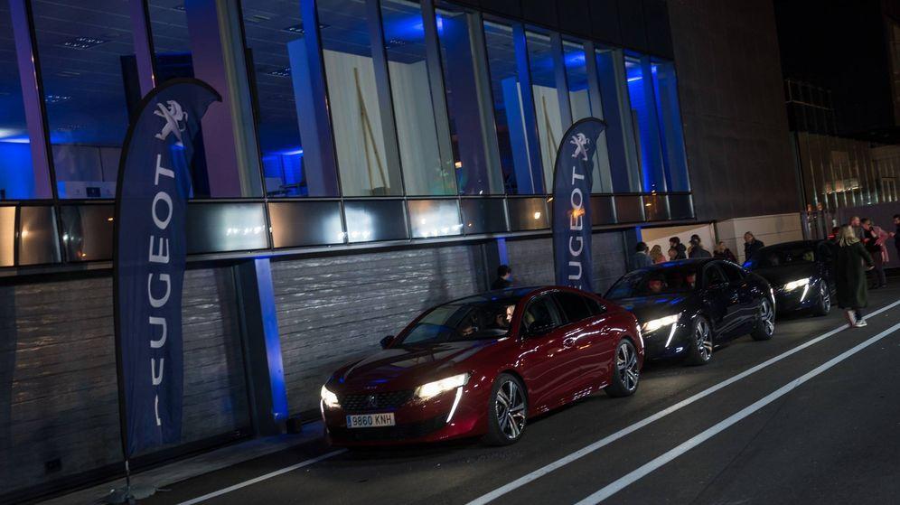Foto: Los sistemas de ayuda a la conducción y de visión nocturna del Peugeot 508 a prueba en el circuito del Jarama.
