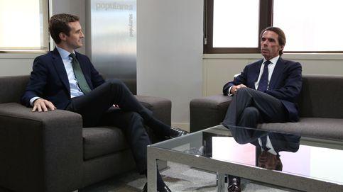 Casado invita a Aznar a sumarse a su proyecto: La experiencia es un grado