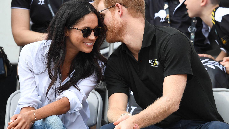 El prínicipe Harry y Meghan Markle en los Juegos Invictus. (Gtres)