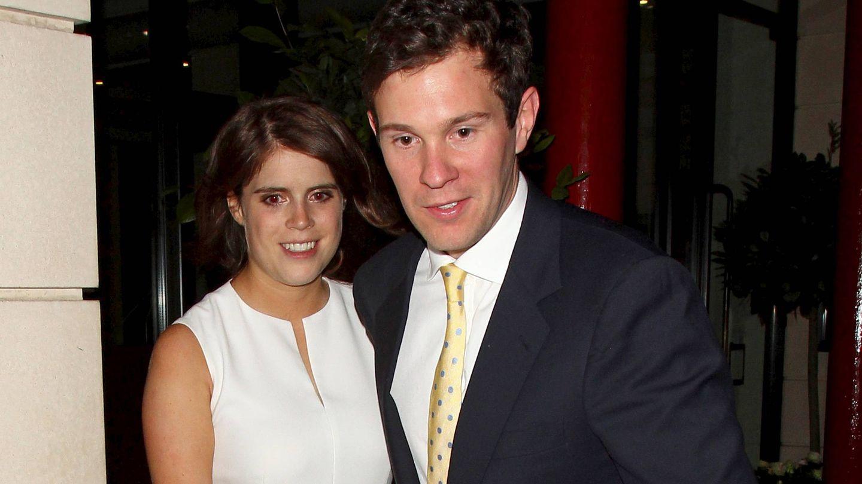 La princesa Eugenia y Jack Brooksbank en Londres.