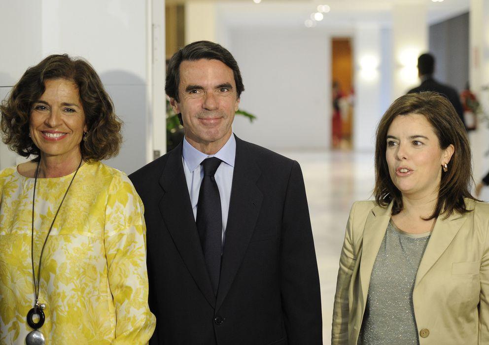 Foto: Ana Botella y Jose María Aznar en una imagen de archivo (I.C.)