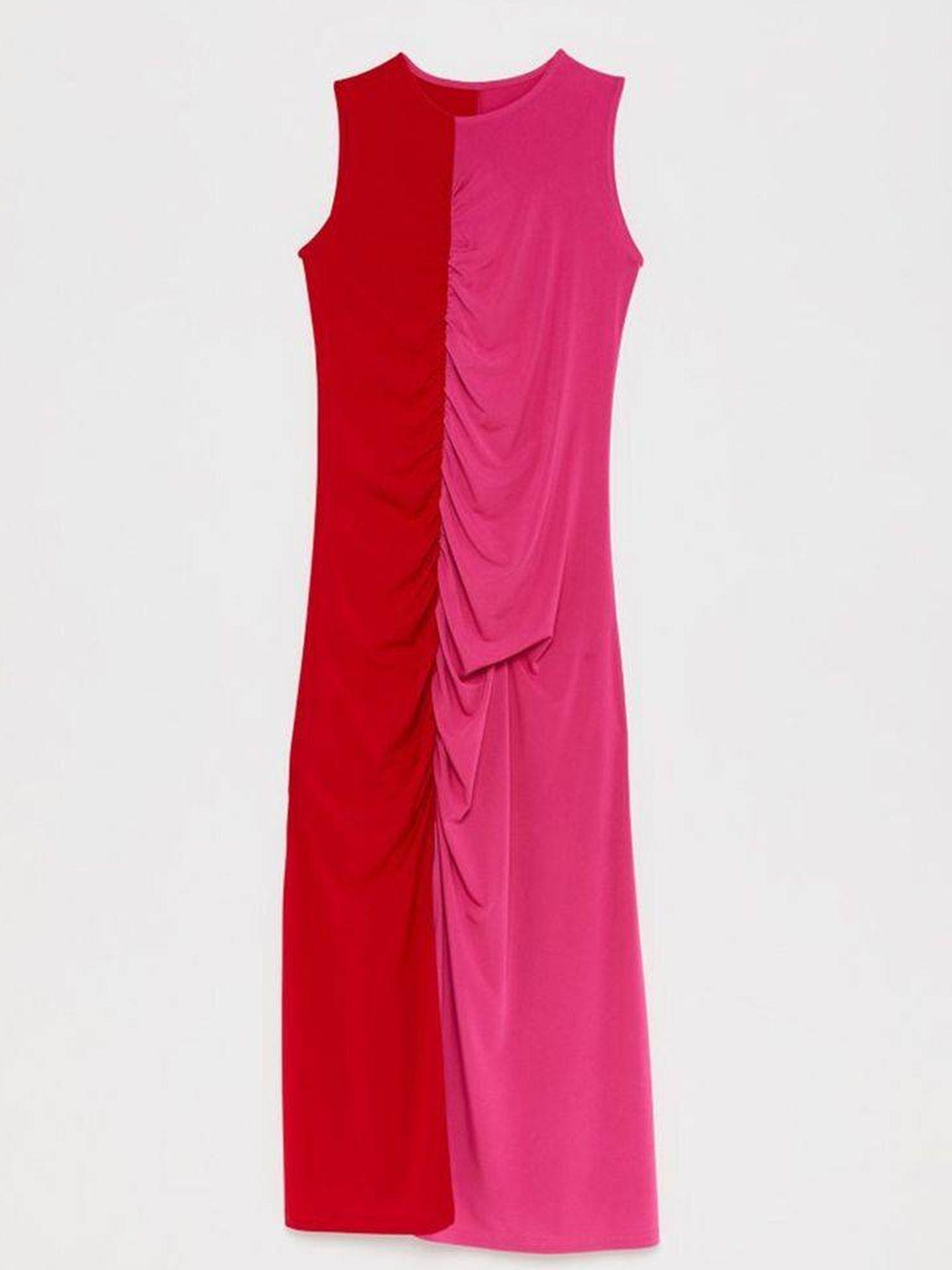 El vestido ajustado de Sfera. (Cortesía)