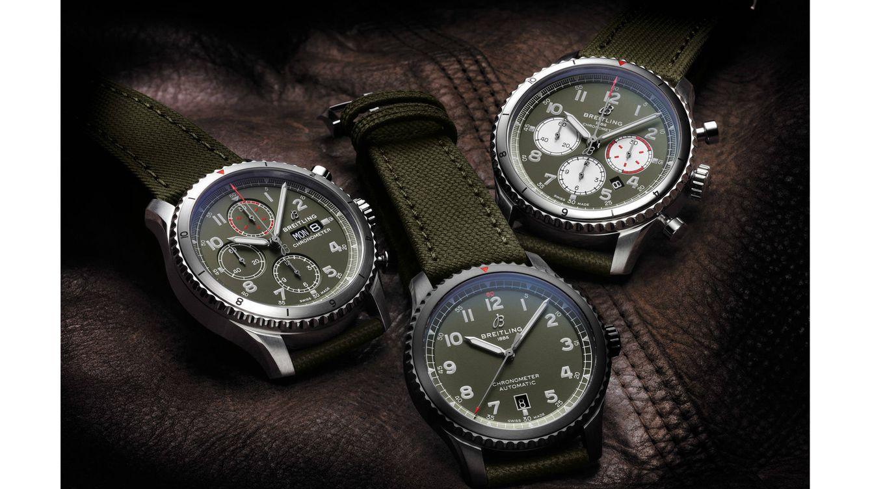 Los tres nuevos relojes Aviator de Breitling