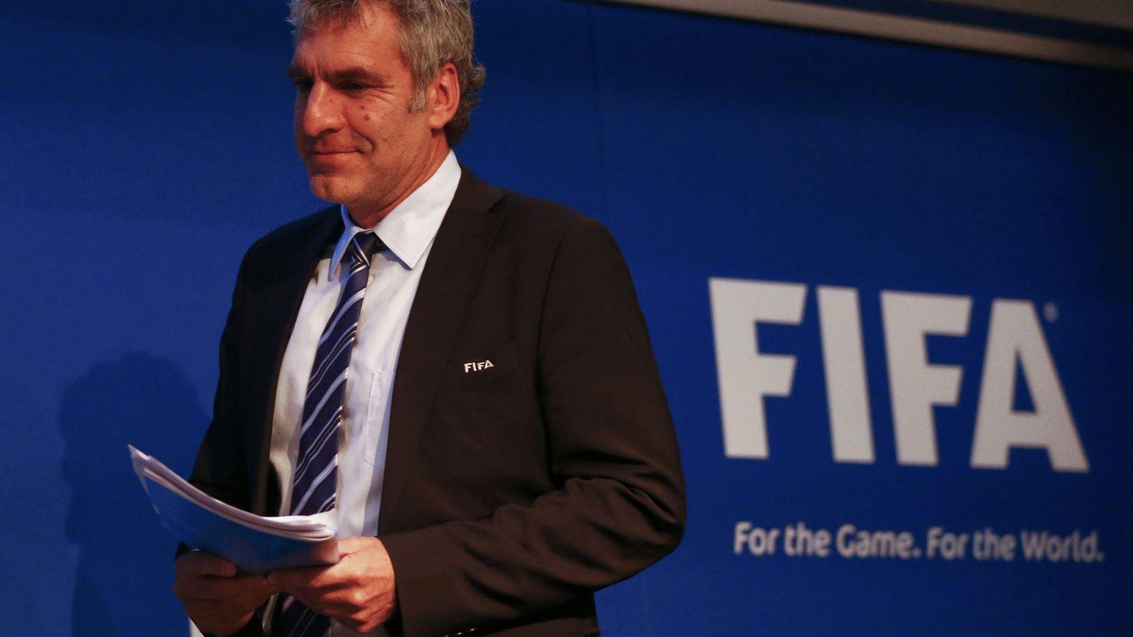 Foto: Walter De Gregorio, director de Comunicaciones de la FIFA.