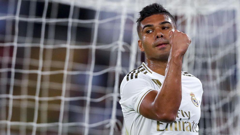 La dura vida de Casemiro y cómo triunfa en el Real Madrid (sin padre ni padrino)
