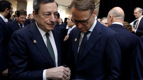 Alemania da marcha atrás en sus ataques al BCE y Weidmann pide perdón a Draghi