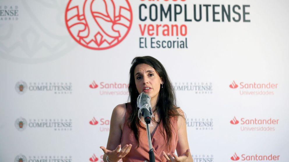 Irene Montero vuelve a apostar por su look más sexy... con un pero