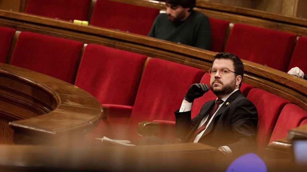 Foto: El vicepresidente de la Generalitat, Pere Aragonès. (EFE)
