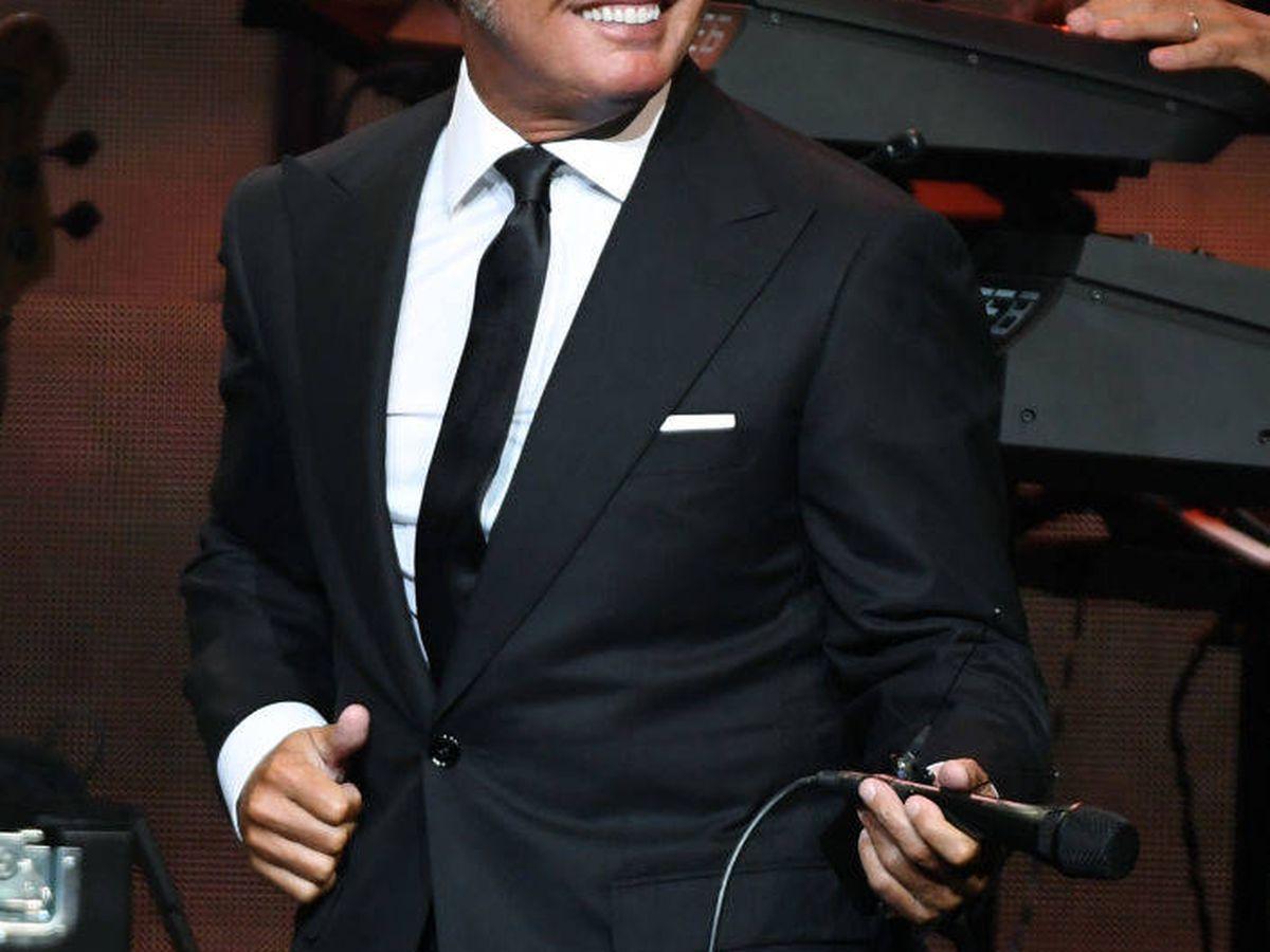 Foto: Luis Miguel, en un concierto en Las Vegas en 2019. (Getty)