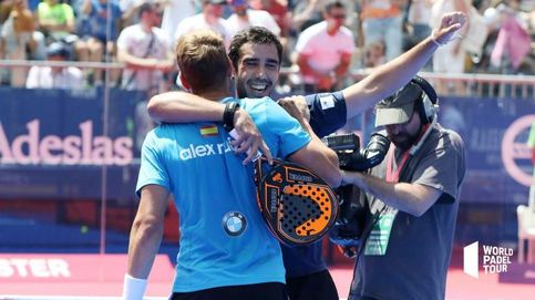 La campanada de Ruiz y Piñeiro en los cuartos de final del Valladolid Master