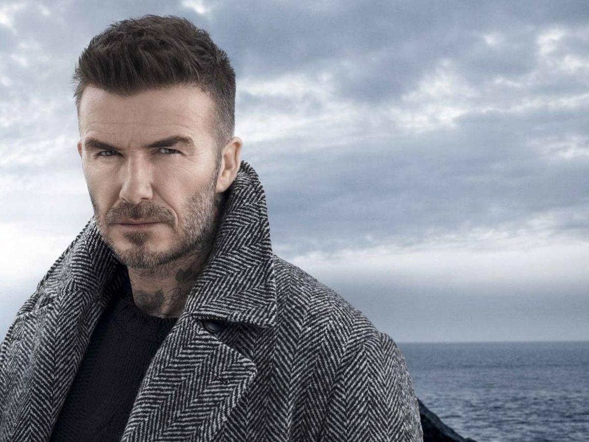 Foto: David Beckham para Biotherm. (Cortesía)