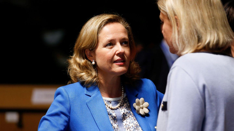 La ministra de Economía, Nadia Calviño. (EFE)