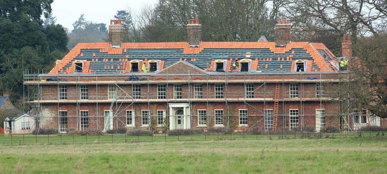 Foto: Comienzan las obras en el palacio de Sandringham