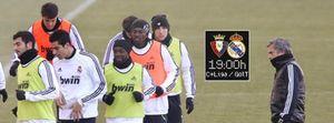 Camacho, en la cuerda floja, recibe al Real Madrid en un campo siempre hostil