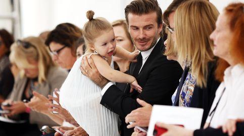 David Beckham se deshace en atenciones con su princesa, Harper