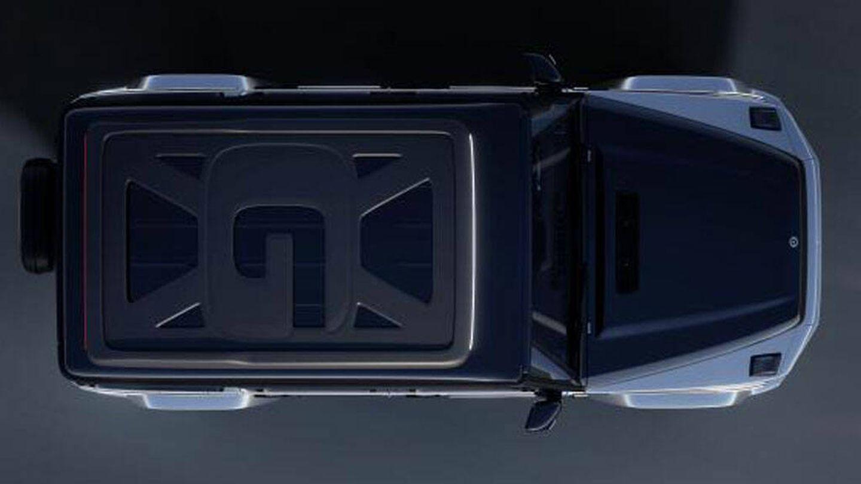El Mercedes-Benz Concept EQG visto desde arriba (Mercedes Benz)