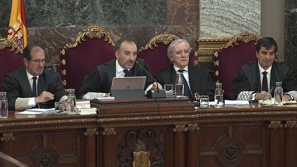 Foto: El tribunal del procés. (EFE)