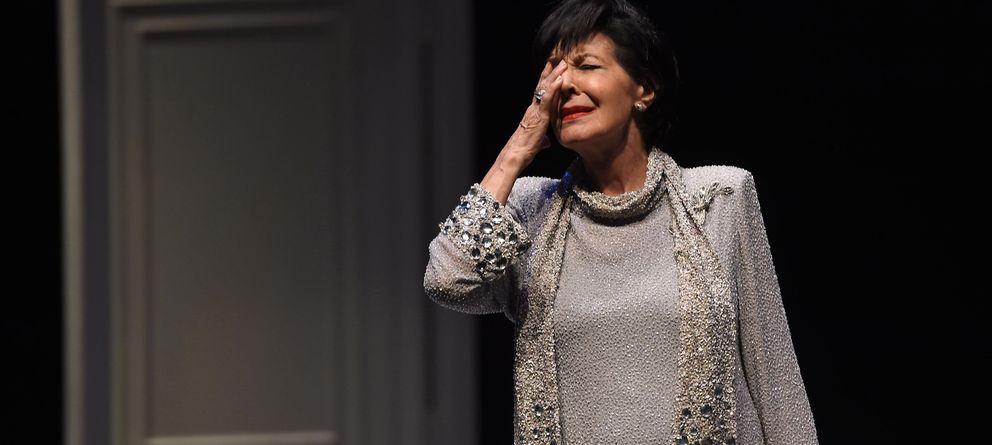 Foto: La actriz Concha Velasco, en la obra de teatro 'Olivia y Eugenio' (Gtres)