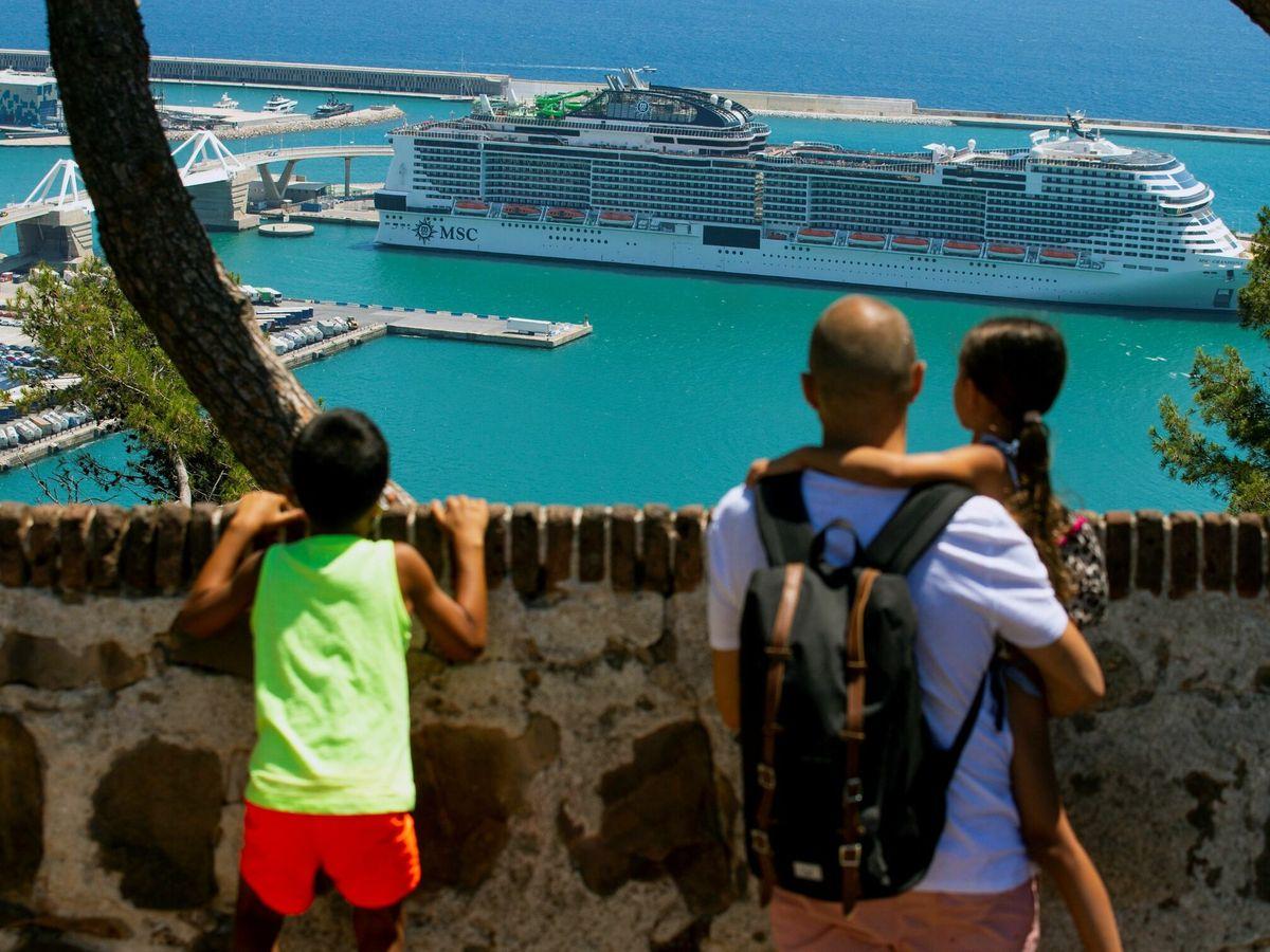 Foto: Turistas en Barcelona. (EFE)