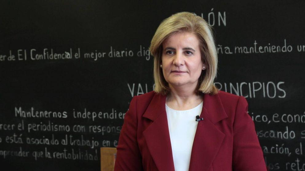 Fátima Báñez: Las pensiones subirán todos los años todo lo que se pueda