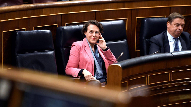 La ministra de Trabajo, Magdalena Valerio, en el Congreso. (EFE)