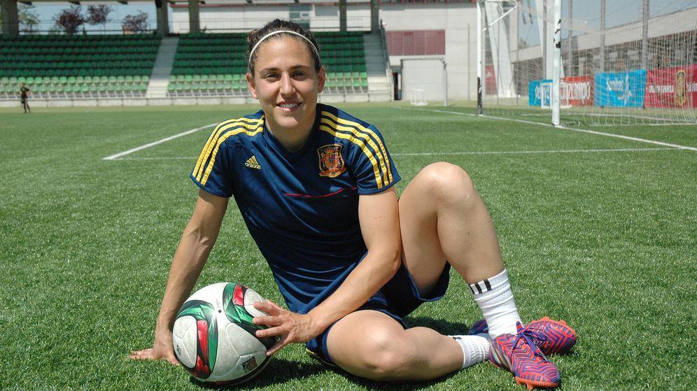 Foto: Vero Boquete es la capitana de la selección española.