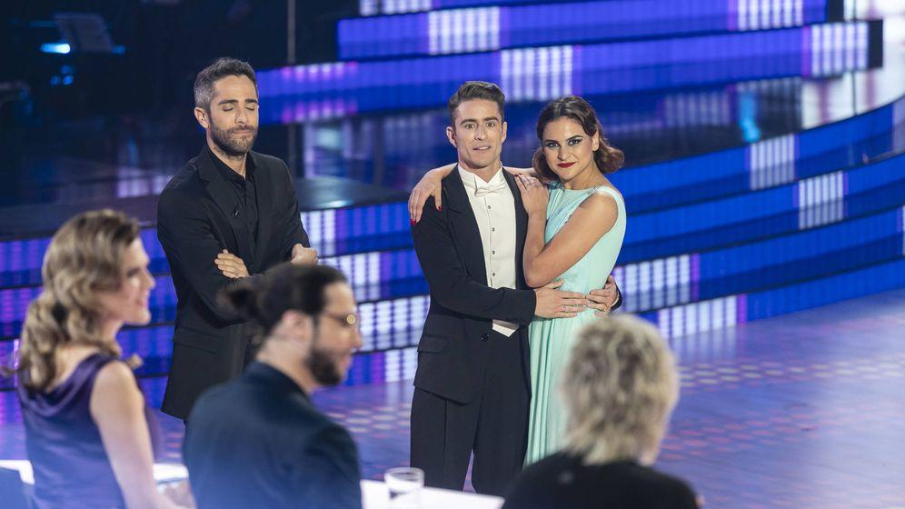 Foto: Pelayo Díaz, junto a su bailarina Inés Miñana. (Gtres)