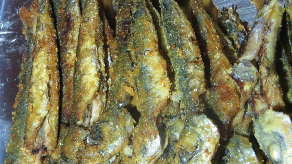 Foto: Chicharros fritos