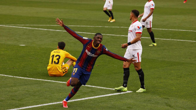 El Barça más sólido de la temporada asalta el Sánchez-Pizjuán ante un tímido Sevilla (0-2)