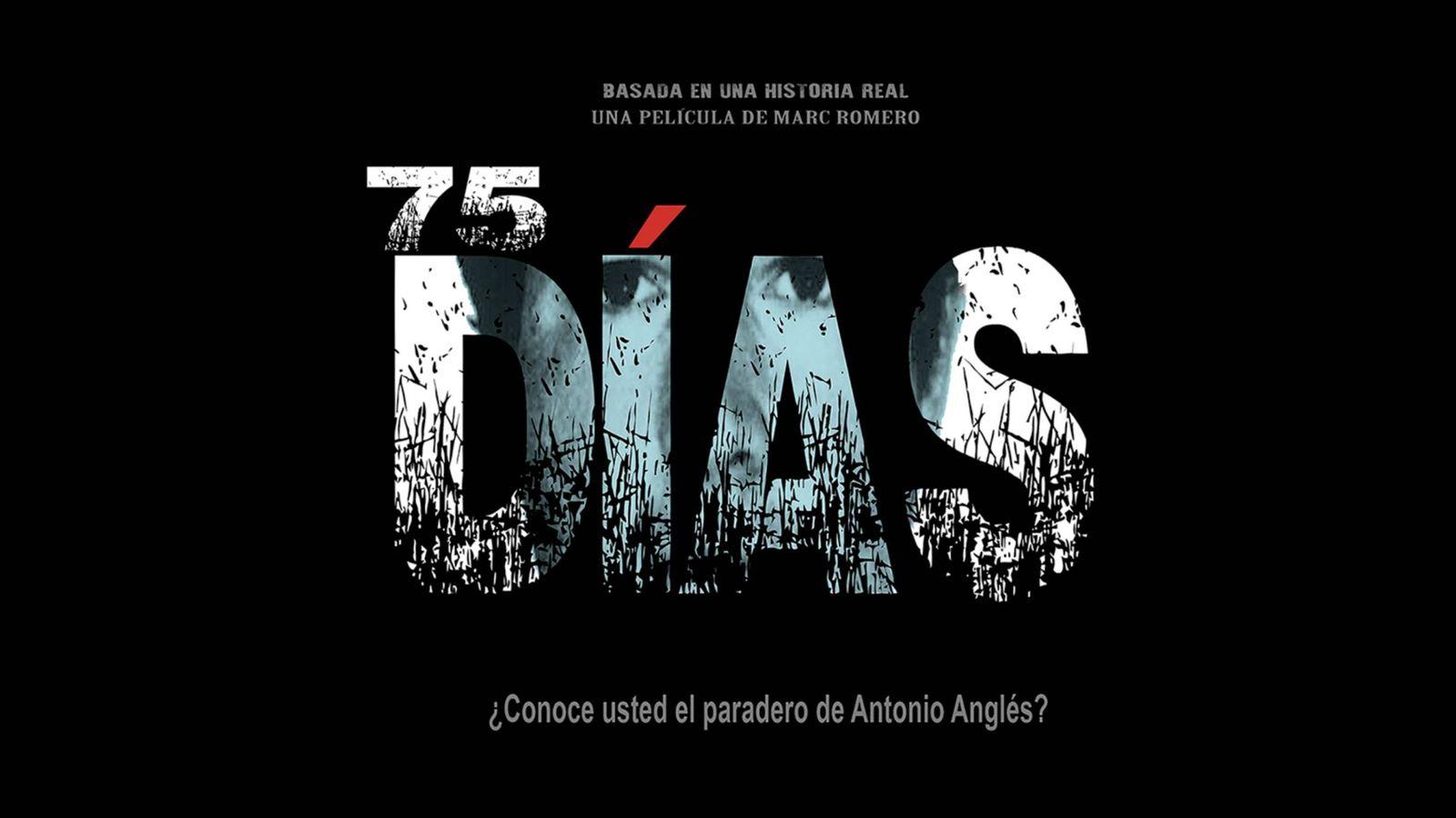 Foto: Imagen promocional de la película '75 días'.