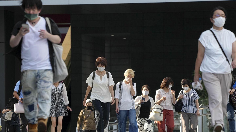 Gente paseando en Akihabara, Tokio. (EFE)