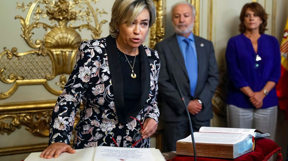 Foto: Toma de posesión de Consuelo Castro como abogada general del Estado. (EFE)
