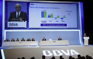 Las entidades del Ibex ganan un 32% menos en el primer trimestre