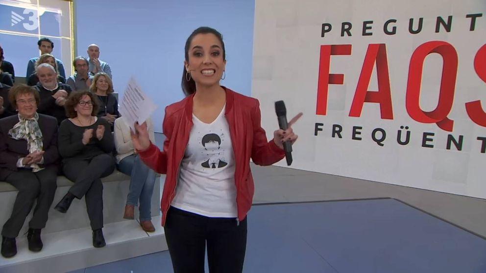 El regulador avala que una presentadora de TV3 lleve una camiseta de Puigdemont