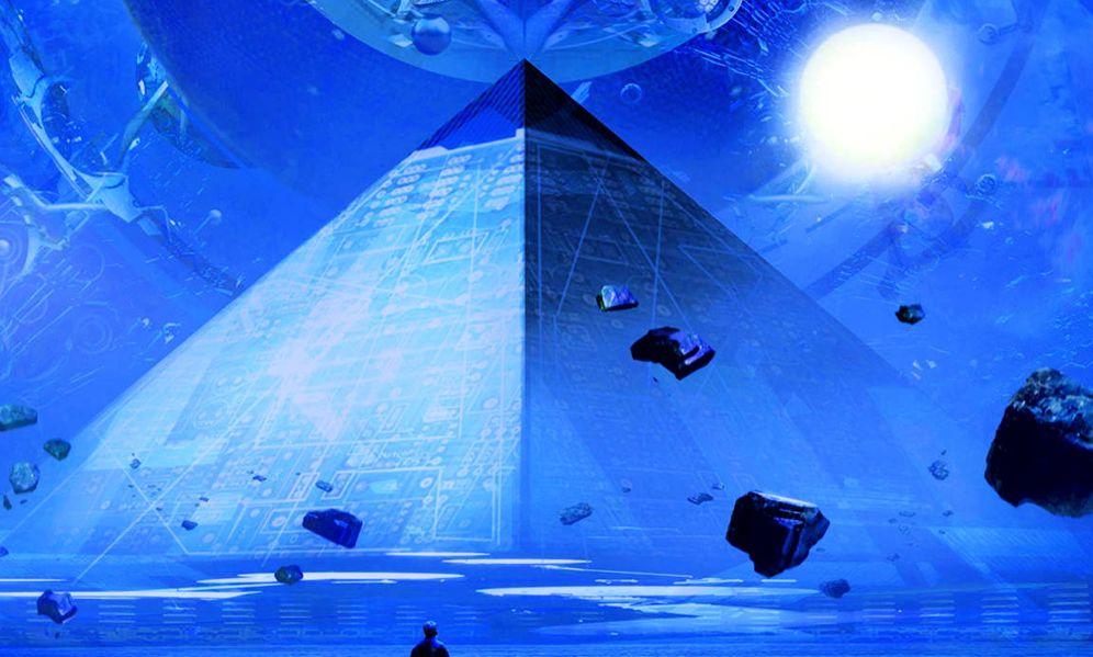 Foto: Detalle de portada de 'El problema de los tres cuerpos'.