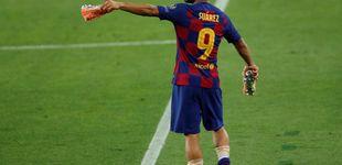 Post de Suárez se despide del Barça entre lágrimas: