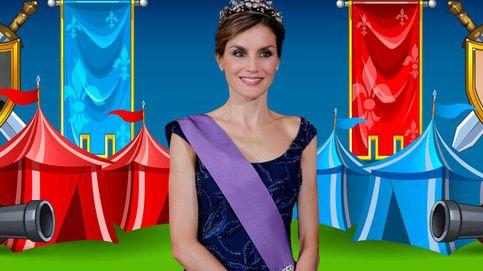 Duelo medieval por el honor de la Reina Letizia