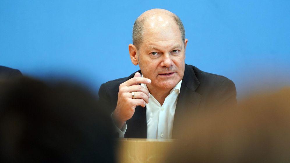 Foto: Olaf Scholz, ministro de Finanzas alemán. (Reuters)