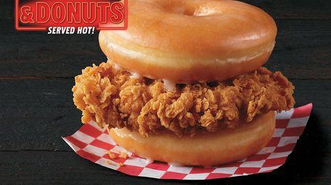 ¿Te imaginas un sándwich de donuts y pollo frito? KFC lo ha creado