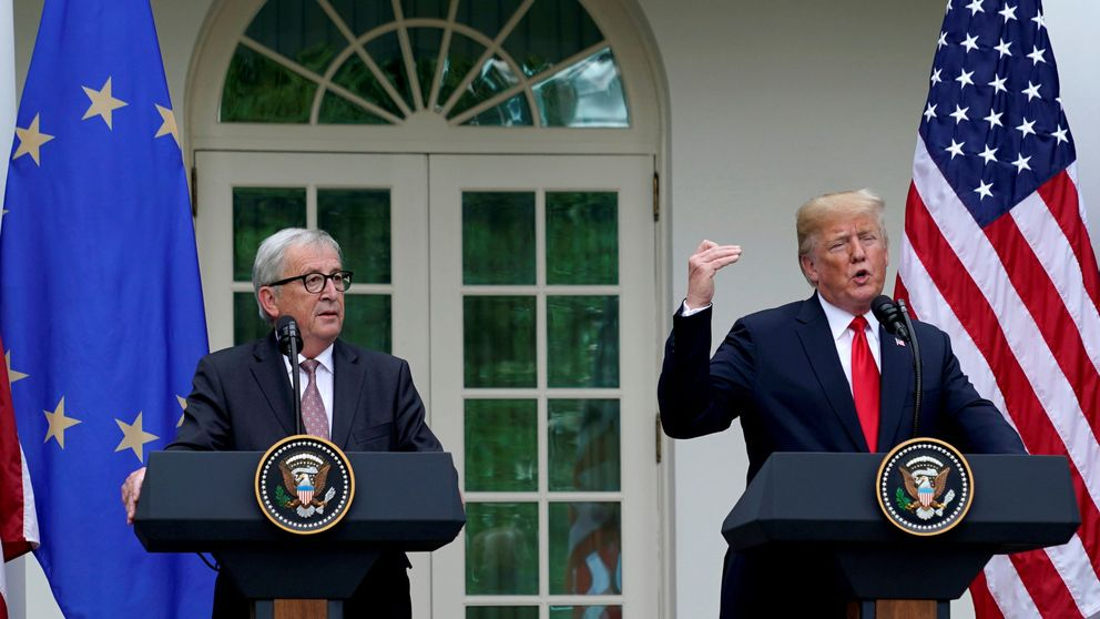 EEUU rebaja la tensión con la UE y restaura la categoría diplomática retirada en 2018