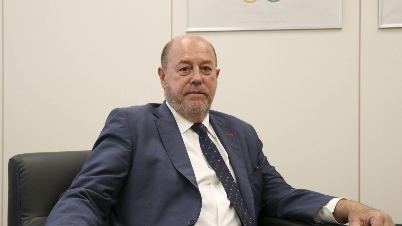 Antonio Espinós, presidente de la Federación Mundial de Karate. (EFE)